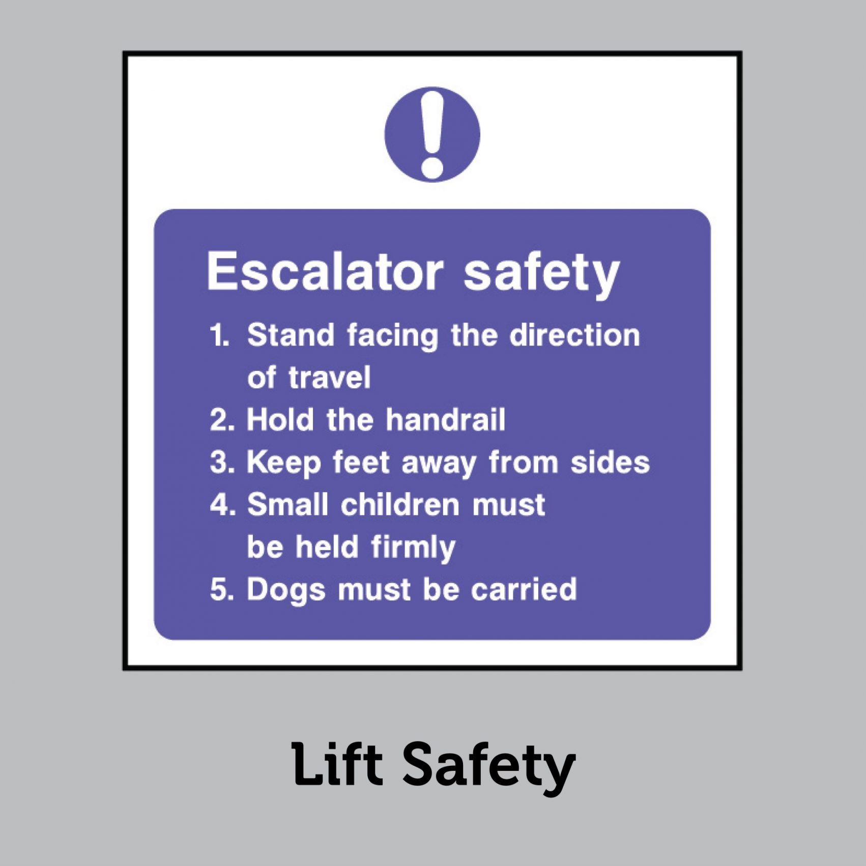 Lift & Escalator Safety