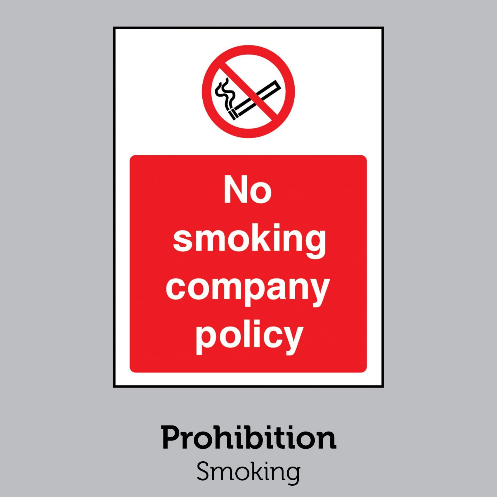 Prohibition - Smoking