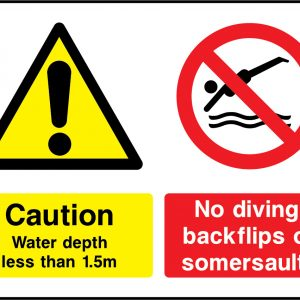 Dual Message Warning Signs