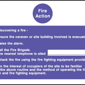 Fire action on discovering a fire sign | Wedosafetysigns | fire safety signage | health and safety signage | ACP | Corrugated Plastic | Rigid PVC | Self Adhesive Vinyl
