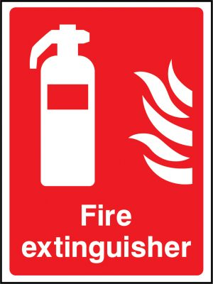 Fire extinguisher sign | Wedosafetysigns | fire safety signage | health and safety signage | ACP | Corrugated Plastic | Rigid PVC | Self Adhesive Vinyl